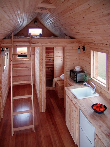 Маленький дом для дачи
